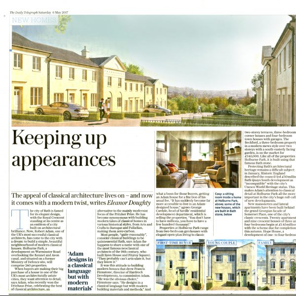 Keeping Up Appearances – The Telegraph